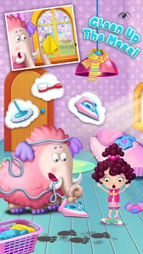 Miau2019s Secret Pet - Fluffy Pink Elephant Care 1.0.109 screenshots 6