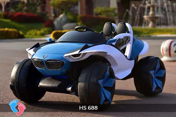 Xe ô tô điện địa hình cho bé hs-688 22