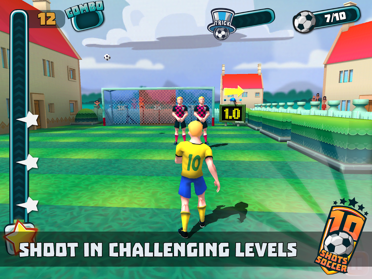 10 Shot Soccer- screenshot