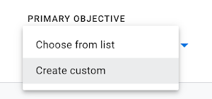 Optimize create custom objective