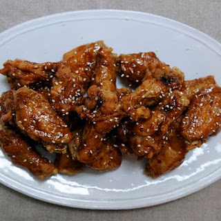 Korean Fried Chicken Wings.