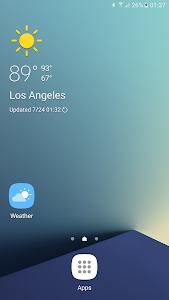 Weather Launcher for Galaxy screenshot 0