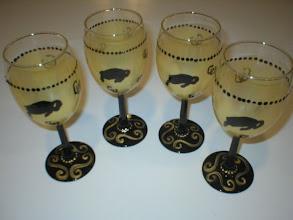 Photo: Custom Wine Glasses