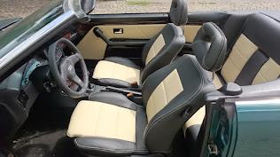 Audi 80 b4 türverkleidung neu beziehen