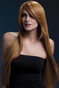 Peruk Amber, rödbrun