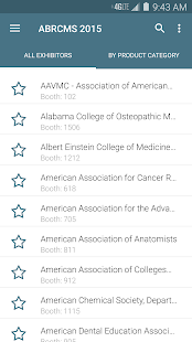 ABRCMS 2015 screenshot