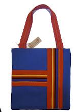 Photo: http://eduszka.blogspot.com/ torba handmade rękodzieło artystyczne, recykling