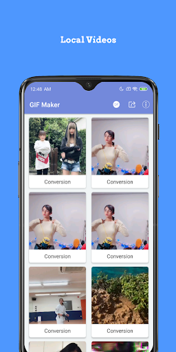 GIF Maker,Video Maker,Video to GIF,GIF Converter screenshots 1