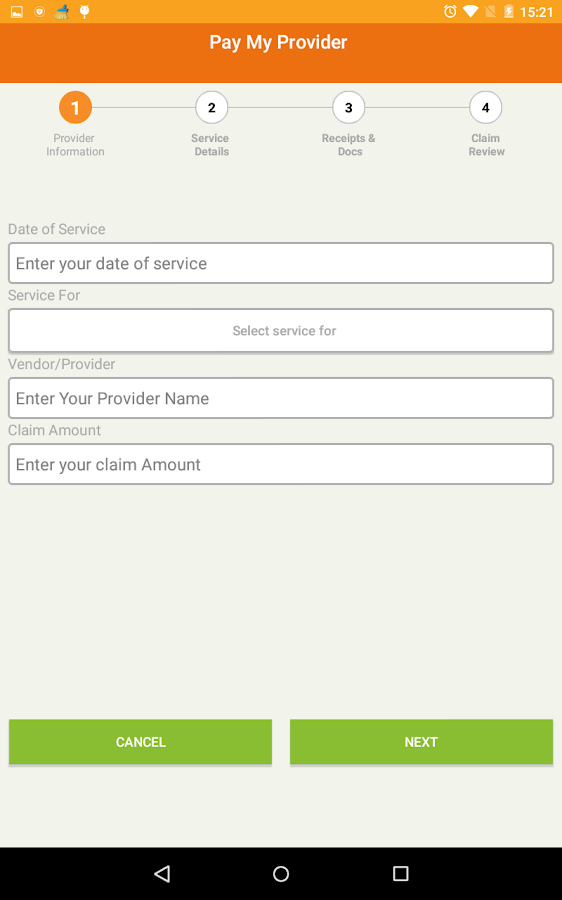 CYC Mobile Claims- screenshot