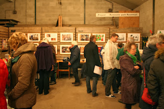 Photo: Gezellige drukte op de Kruizer Winterfair in de schuur van Mariëtte