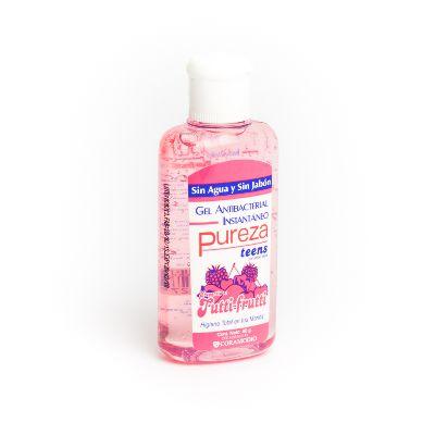gel antibacterial pureza teens tutti frutti 80 gr