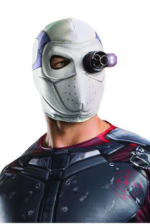 Suicide Squad Deadshot, mask lysande