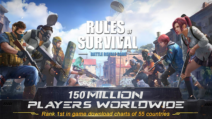 RULES OF SURVIVAL Android App Screenshot