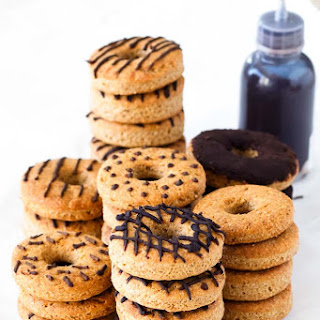 Peanut Butter Dog Donut Treats with Carob Icing Recipe