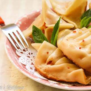 Roasted Butternut Squash Potstickers.
