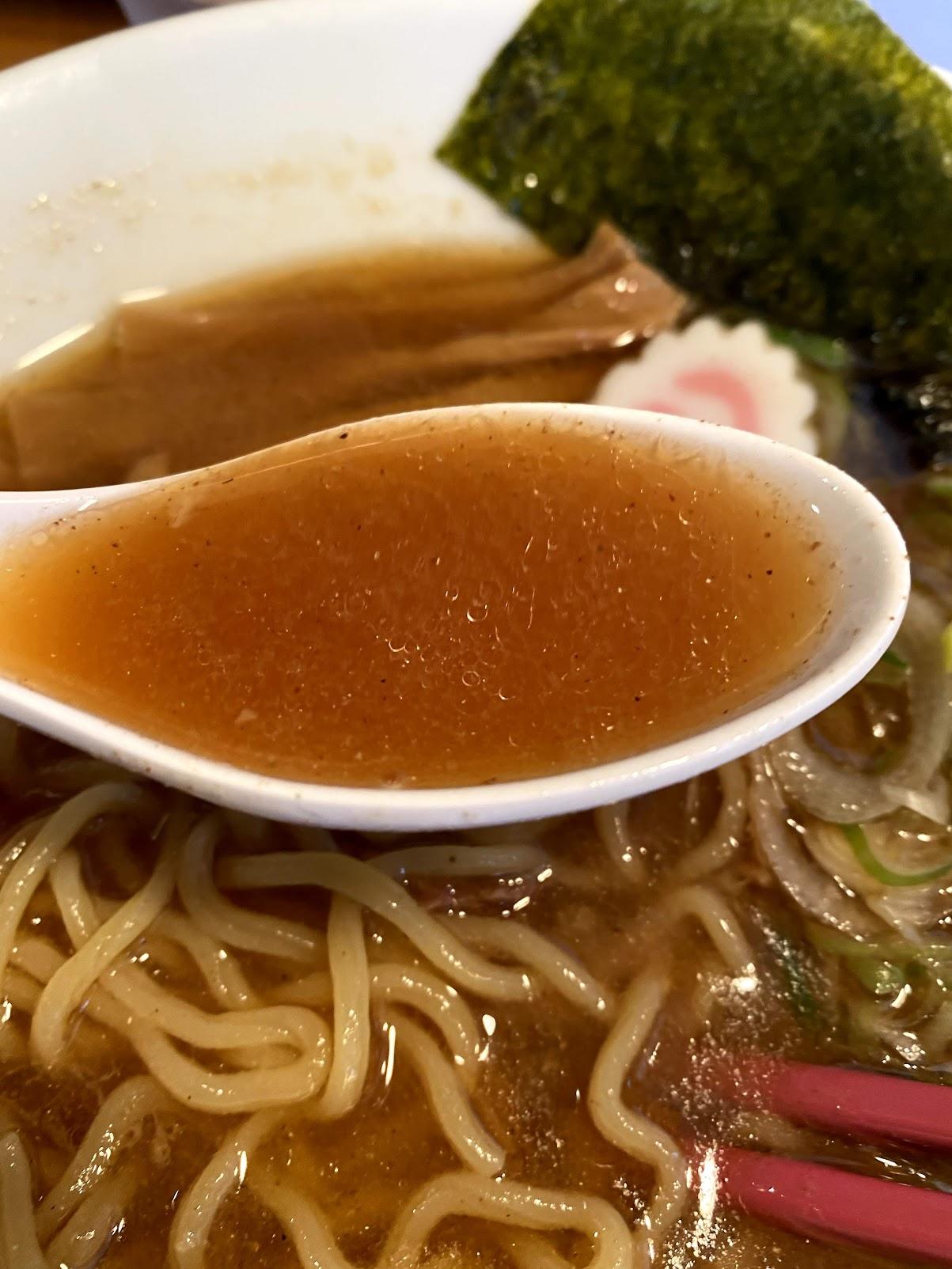 和らく スープ