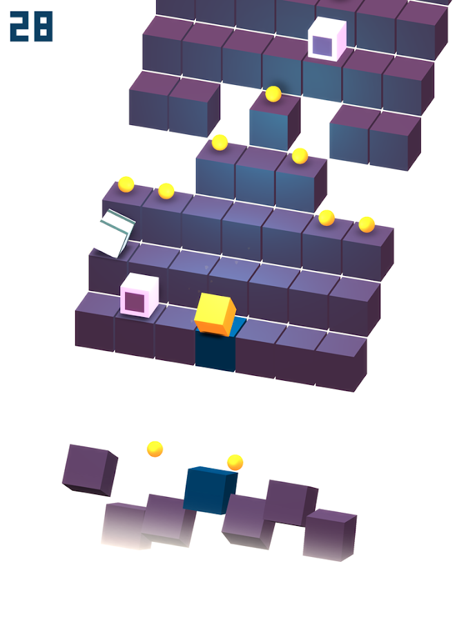 Cube Roll- screenshot