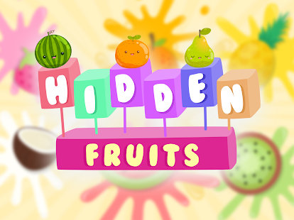 Hidden object for children - Fruits - náhled