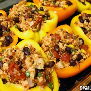 Southwest Turkey Stuffed Peppers.