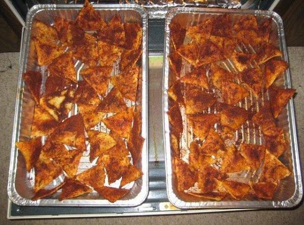 Hot & Tangy Homemade Tortilla Chips Recipe