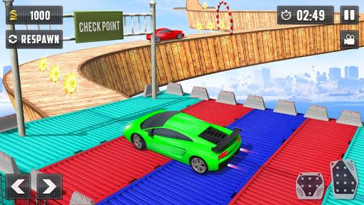 Crazy Car Driving Simulator: Impossible Sky Tracks 1.0 screenshots 1