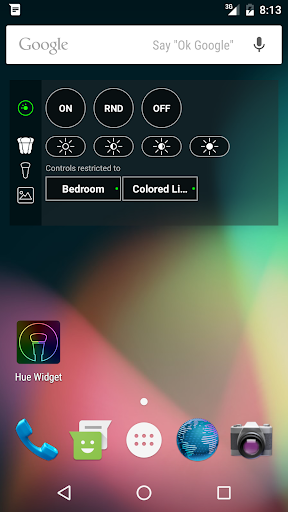 Screenshot for Hue Widget in United States Play Store