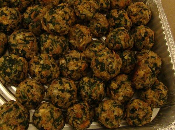 Ralph's Famous Spinach Balls Recipe