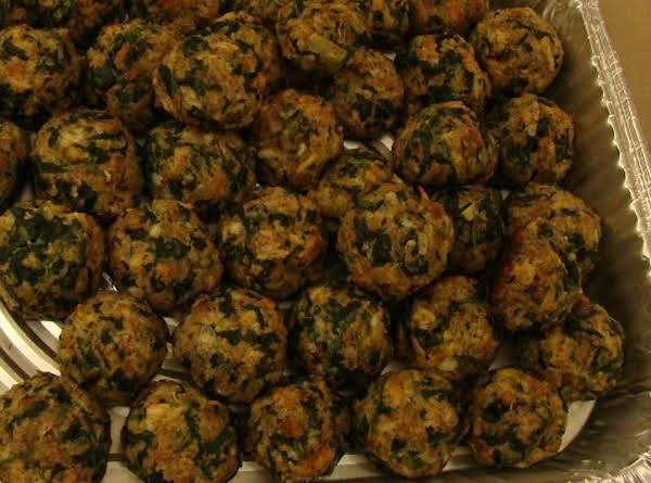 Ralph's Famous Spinach Balls