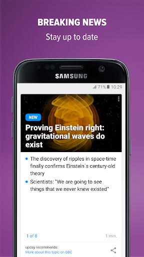 upday news for Samsung Mod Apk 2.5.13671 3
