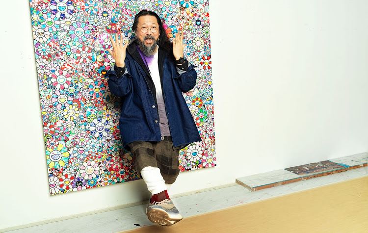 Takashi Murakami wearing the Classic Fusion Takashi Murakami All Black.