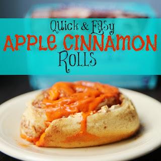 Quick and Easy Apple Cinnamon Rolls Recipe