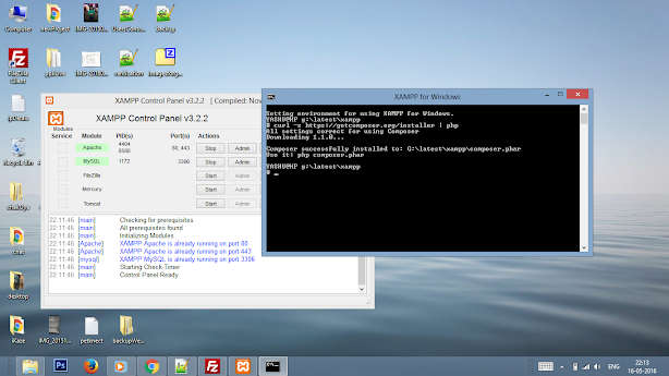 CakePHP V3 installation