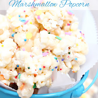 Popcorn Cake Marshmallows Recipes