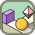 Tap Tap Rush - Play offline. Zigzag ball jump game icon