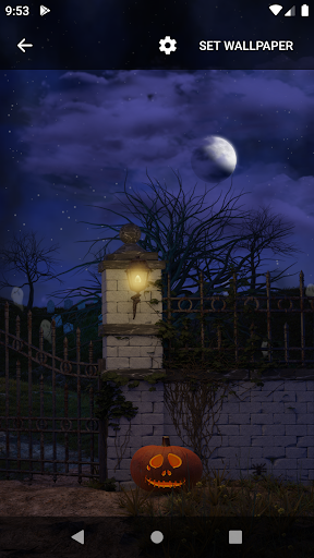 Scary House Live Wallpaper screenshot 4