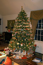 "Photo: Our tree. It's Christmas Eve and we watched ""Holiday Inn"" (1942), as we have since 1986."