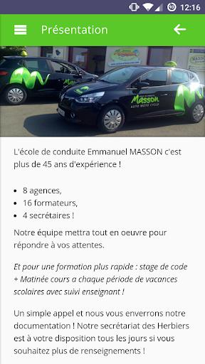 Auto-Ecole Masson