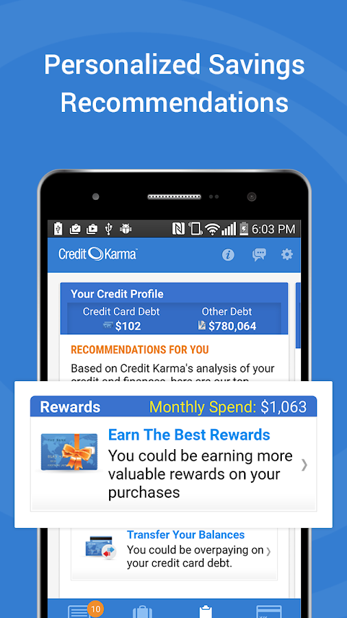 Credit Karma - screenshot