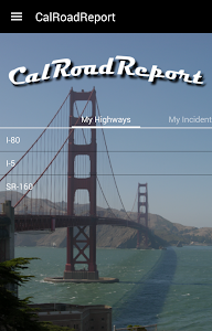 CalRoadReport Travel & Traffic screenshot 1