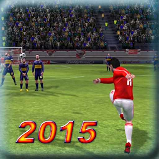 2015年足球 - 实况足球 動作 LOGO-玩APPs
