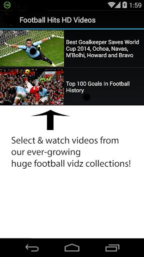 Football Hits HD Videos