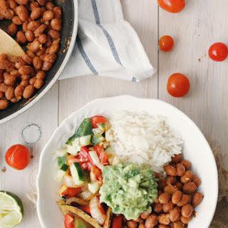 Mexican Rice & Beans Avocado Bowl