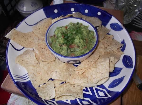 Ali's Holy Guacamole Recipe