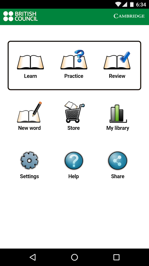 MyWordBook - Learn English- screenshot
