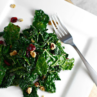 Winter Wilted Kale Salad.