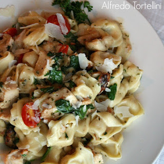 Chicken Pesto Alfredo Tortellini