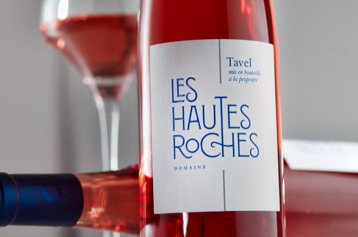 Les Hautes Roches Wine Label Design