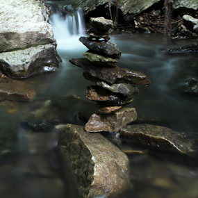 Nature in Balance by Wesley Nesbitt - Artistic Objects Other Objects ( water, love, nature, peace, rocks )