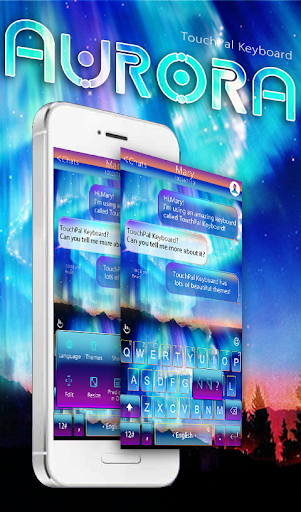 Aurora TouchPal Keyboard Theme
