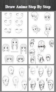 Nakreslete anime krok za kroke - náhled